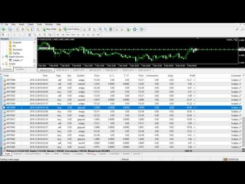 How to increase & decrease Forex Trading Account with Scalper_v7 - Profit & Loss Settings
