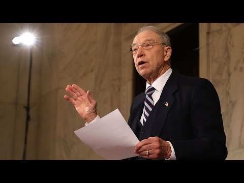 Grassley Says Trump Tower Meeting Interviews Are Done
