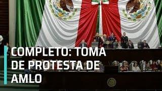 Discurso de la Toma de protesta de AMLO como presidente de la República