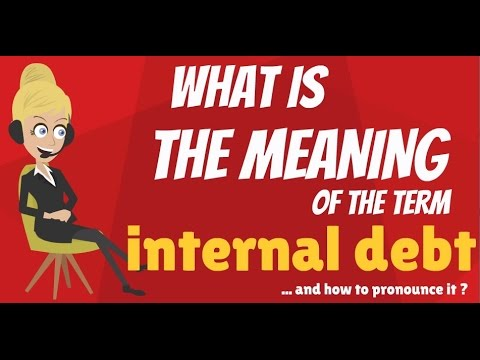 What is INTERNAL DEBT? What does INTERNAL DEBT mean? INTERNAL DEBT meaning & explanation