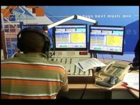 Fantom DunDeal at Mix 96.9 FM Barbados