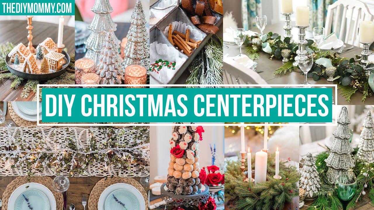 7 Diy Christmas Centerpiece Ideas Youtube