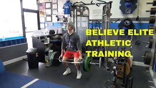 CRUSADERS BASEBALL CLUB WINTER WORKOUT AT BELIEVE ELITE ATHLETIC TRAINING
