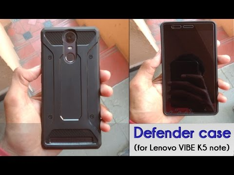 the latest d2331 76ed0 Defender case for Lenovo vibe k5 note-unboxing & Review!