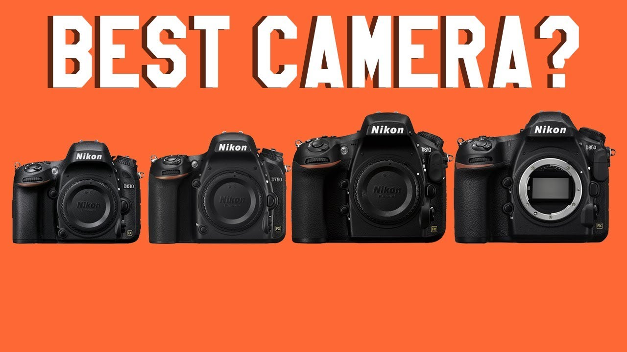 Best Nikon Full Frame Cameras for Beginners - YouTube