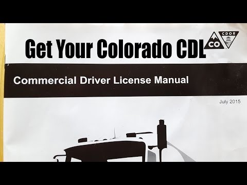 How To Get a CDL Cass B in Colorado With Nick Soloninka