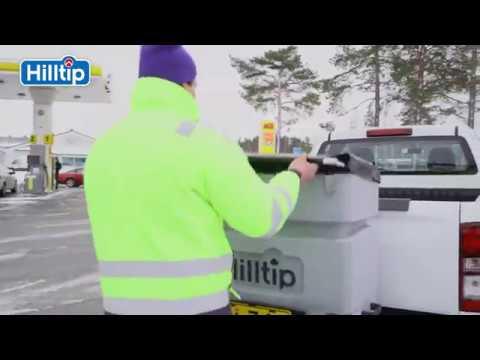 Hilltip Icestriker™ tailgate 120 & 200L Salt spreaders - tractor spreaders - compact loader spreader