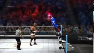 【WWE2K14】真壁刀義vsファイヤーレオン【PS3】
