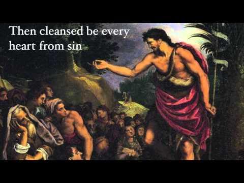 ADVENT MUSIC  Hymn: On Jordans Bank the Baptists Cry
