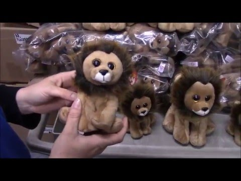 TY Beanie Baby CECIL the Zimbabwe Lion Review - BBToyStore.com 8efd37721fa