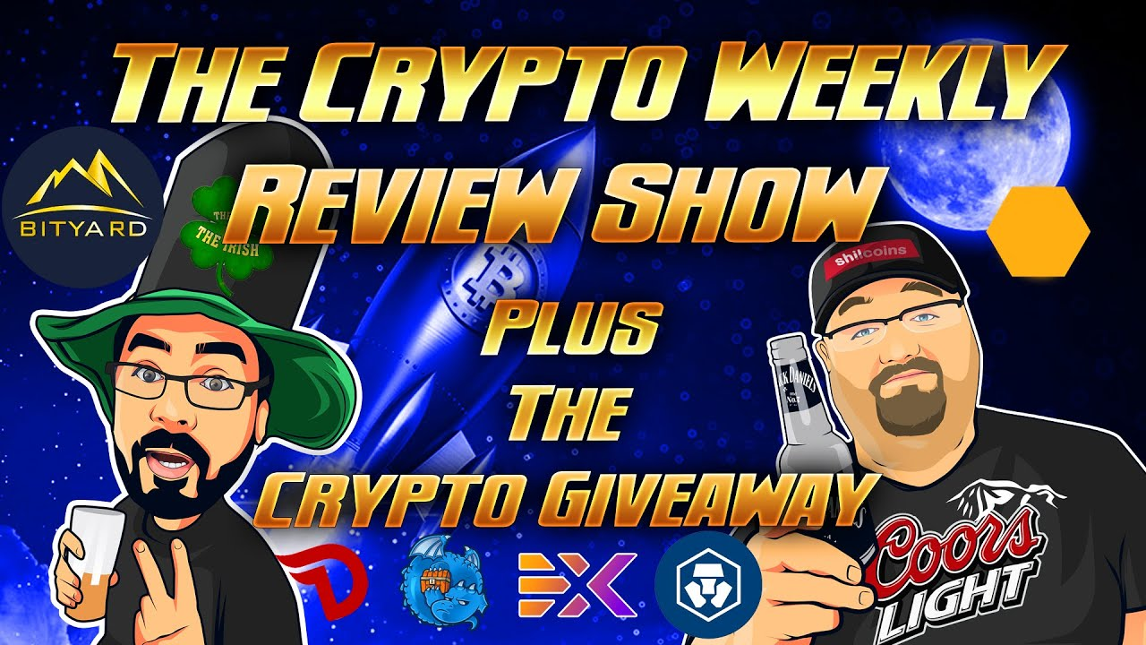 Crypto Weekly Review Show - We talk Dragonchain, Divi, Bityard & Sinovate! Plus More Crypto Winners!