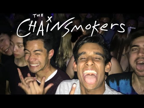 CRAZY CHAINSMOKERS CONCERT IN NZ *rip eardrums*