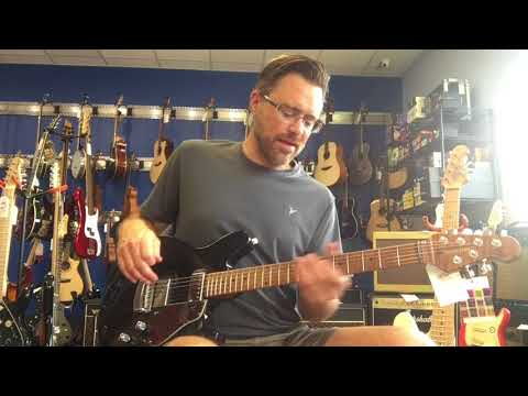 IMG - Ernie Ball/Music Man James Valentine Signature Guitar And Sterling By Music Man JV60 Demo