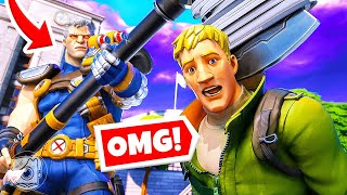 DO WHAT CABLE SAYS... or DIE! (Fortnite Simon Says)
