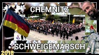 CHEMNITZ SCHWEIGEMARSCH BERICHT | AFD PEGIDA | ANTIFA