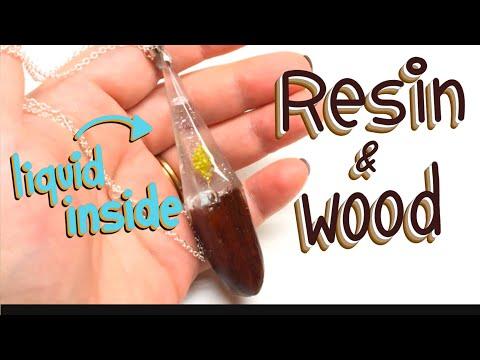 Resin and Wood - Let's Resin set- tutorial- DIY
