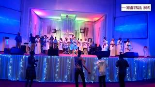 Ufunguo - Natasha Lisimo with next level team in weekend worship cccupanga