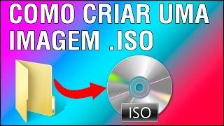 Como criar um arquivo .ISO