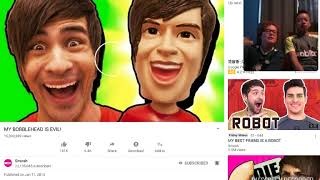 Chickenwinger react to Smosh old video whith Oliver