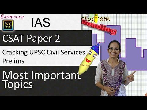 Cracking UPSC Civil Services Prelims (Aptitude Paper 2): Most Important Topics