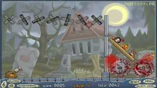 Roly-poly Cannon: Bloody Monsters Pack 2 Levels 1-10 Walkthrough