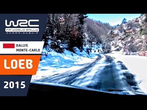 WRC - Rallye Monte-Carlo 2015: Onboard Loeb SS10