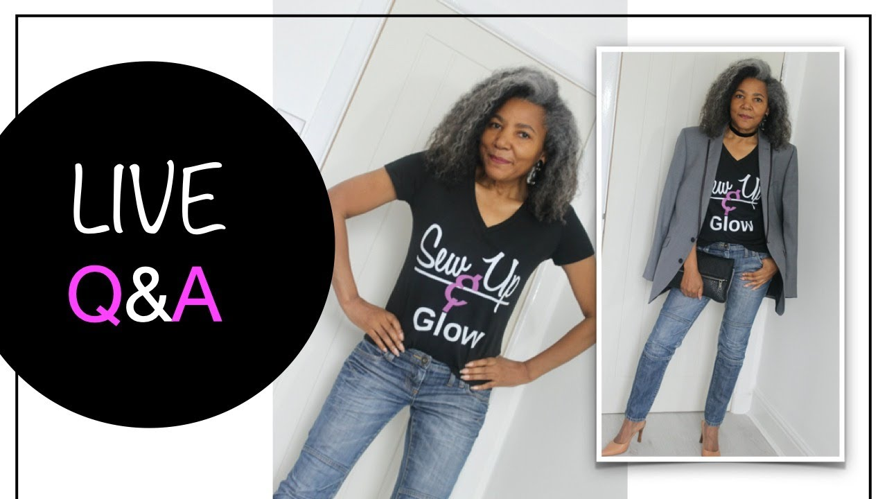 Your Fashion Sewing Questions Answered LIVE - Plus Merch Giveaway