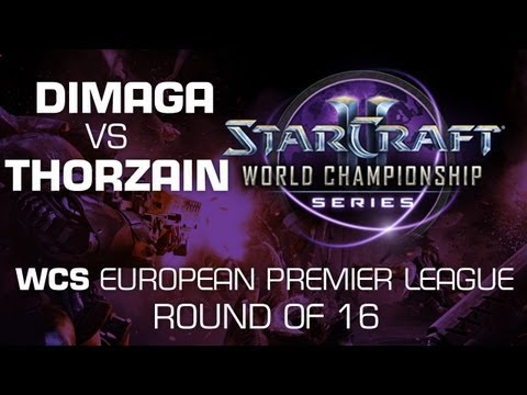 DIMAGA vs. ThorZaiN - Group D Ro16 DECIDER - WCS European Premier League - StarCraft 2