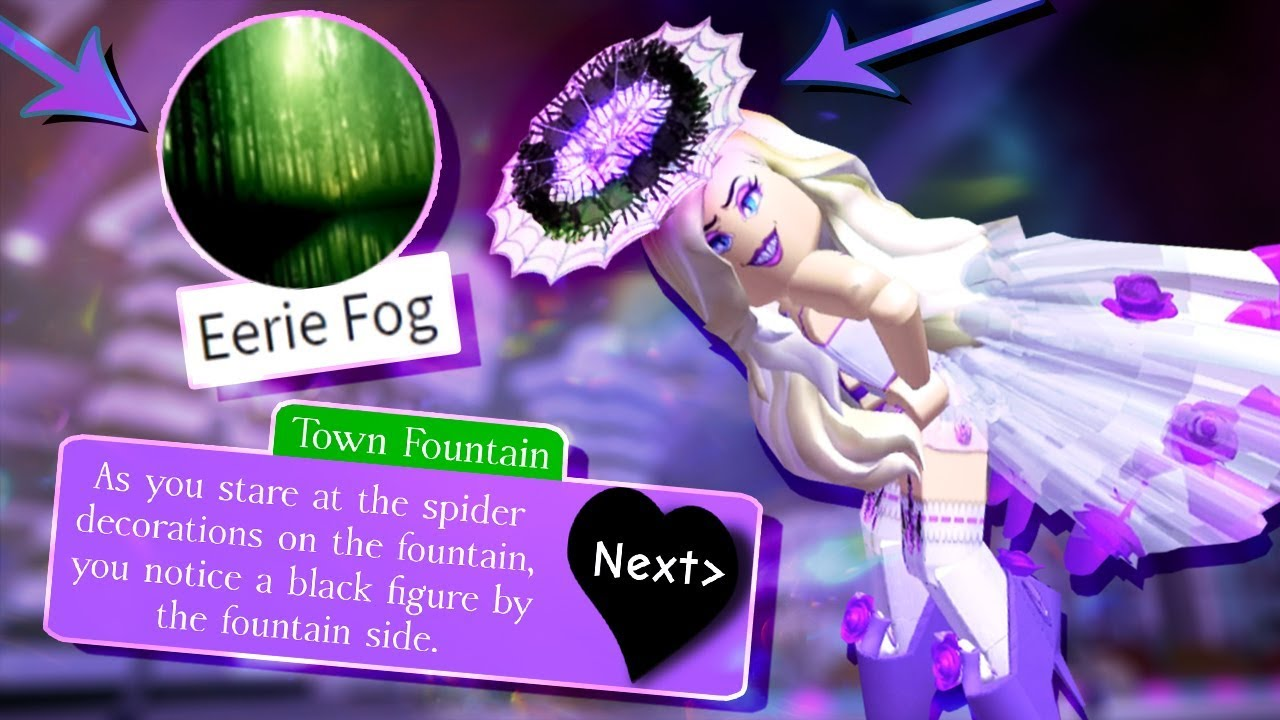 How To Get The Halloween Halo Eerie Fog Badge In Royale High - halo in royal high roblox