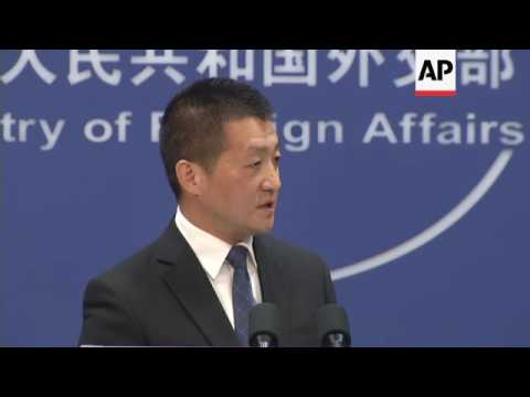 China foreign ministry on likely Trump envoy