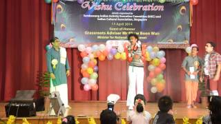 COMEDY SKIT & DANCE PERFORMANCE BY INDIAN CULTURAL ASSOCIATION SINGAPORE