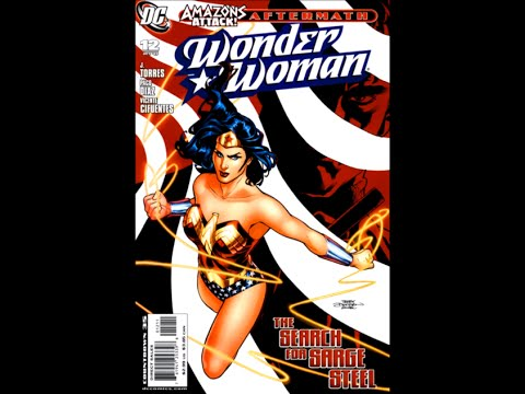 "Wonder Woman: Vol 3 # 12 ""The Search For Sarge Steel"""