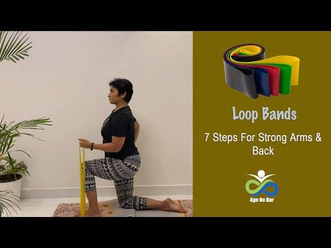 Beginner Resistance Band workout | Strength Training For women over 40 | 10 Min Upper Body Workout
