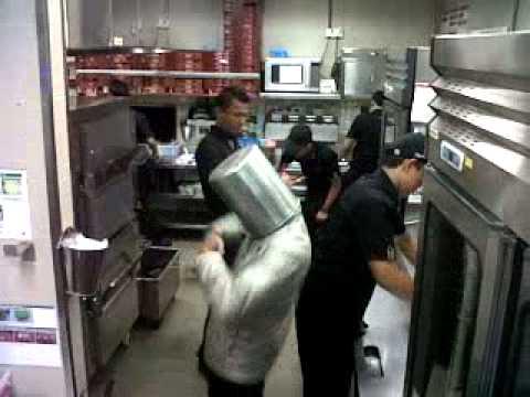 Harlem shake pizza hut banjar
