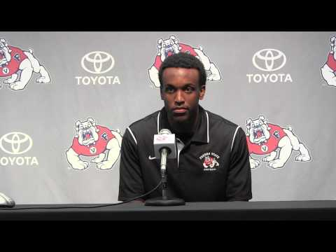 Weekly Football Press Conference - Senior Safety Shannon Edwards (9-14-15)