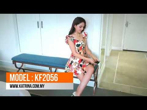 FLORAL PRINTED JUMPSUIT KF2056
