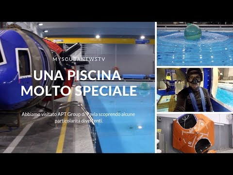 La piscina di APT Group si trasforma un set!