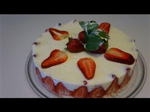 Gateau fraise mascarpone facile