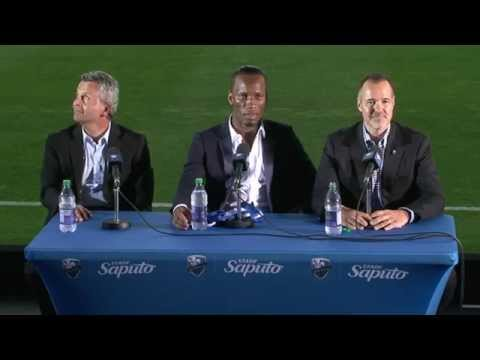 Conférence Didier Drogba