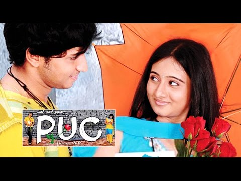 PUC Kannada Full Movie | Romantic Comedy | Chethan Chandra, Harshika Poonacha | Latest Upload 2016