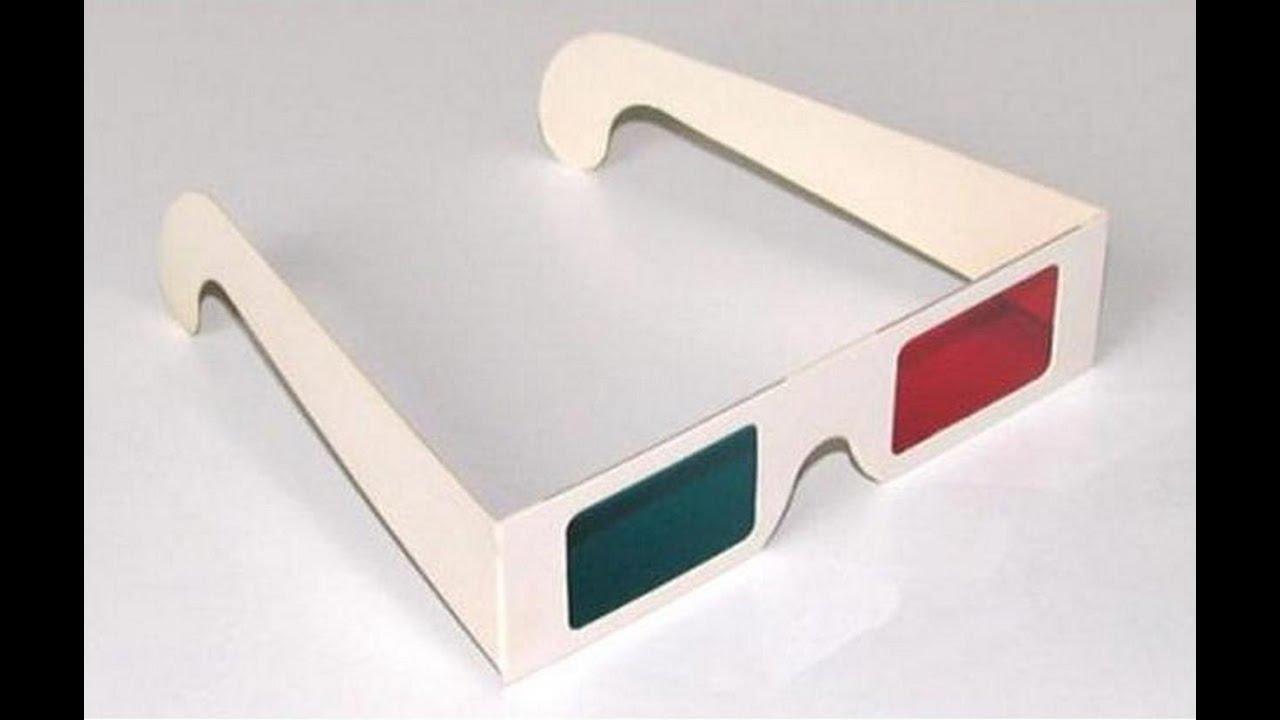 Как сделать 3D очки своими руками дома.Поделки из бумаги.Подарок Поделки с  детьми! c50a0169d125a