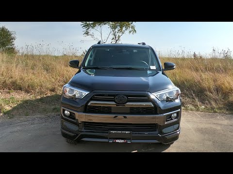 2020 Toyota 4RUNNER Limited Nightshade review with me