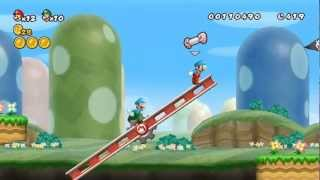 New Super Mario Bros Wii - 100% Walkthrough Co-op ITA - Parte 01 di 19