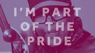 #PartOfThePride: 'Mr Movie Trailer Man' Redd Pepper