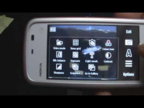 Nokia 5233 Review : Camera UI