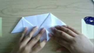 How To Make A Origami Loving Heart (heart With Wings) Valentines