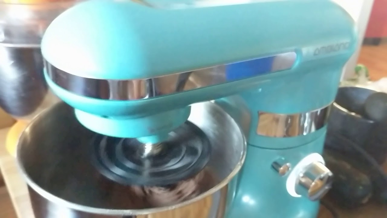Aldi Ambiano stand mixer demo - YouTube