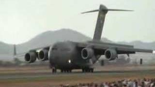 C-17 takeoff and landing