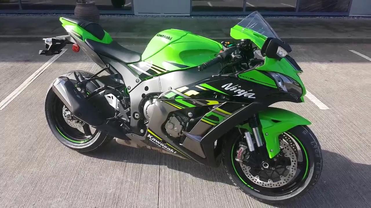 2018 Kawasaki Ninja Zx10r Krt Edition Superbike Walkaround Youtube