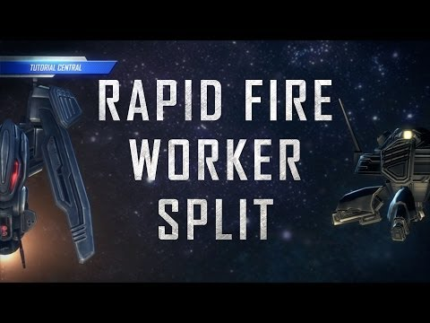 Starcraft 2: Rapid Fire Worker Split